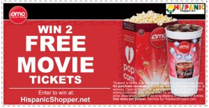 Win 2 Free Movie Tickets!!!