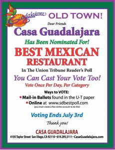 Casa Guadalajara-San Diego