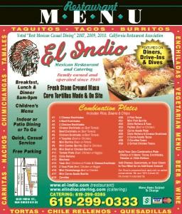 El Indio Mexican Restaurant-San Diego