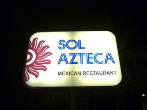 Sol Azteca Restaurant - Boston