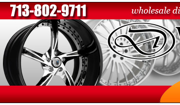 WHEEL AND TIRE DESIGNS - HOUSTON