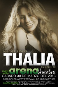 THALIA - Live in Concert - Saturday March 30, 2013